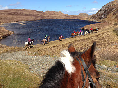 horse riding dunlewey trekking centre
